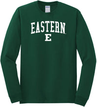 Load image into Gallery viewer, Eastern Michigan University Eagles NCAA Jumbo Arch Unisex Long Sleeve T-Shirt