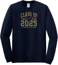 Load image into Gallery viewer, University of Akron Zips NCAA Class of 2025 Arch Long Sleeve T-Shirt