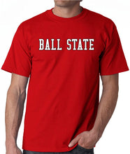 Load image into Gallery viewer, Ball State University Cardinals NCAA Block Unisex T-Shirt