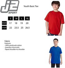 Load image into Gallery viewer, Ball State University Cardinals NCAA Jumbo Mascot Youth T-Shirt