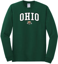 Load image into Gallery viewer, Ohio University Bobcats NCAA Jumbo Arch Unisex Long Sleeve T-Shirt