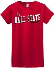 Load image into Gallery viewer, Ball State University Cardinals NCAA Uphill Victory Women's T-Shirt