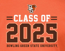 Load image into Gallery viewer, Bowling Green State Falcons NCAA Class of 2025 Stacked T-Shirt