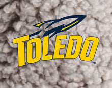 Load image into Gallery viewer, University of Toledo Rockets NCAA Ladies Sherpa Hat with Embroidered Patch
