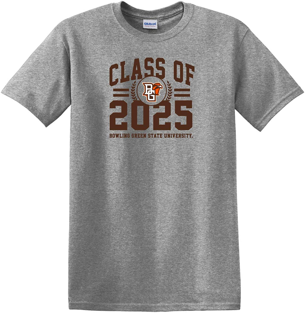 Bowling Green State Falcons NCAA Class of 2025 Arch T-Shirt