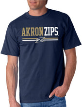 Load image into Gallery viewer, Akron Zips NCAA Double Team Unisex T-Shirt