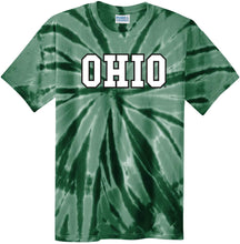 Load image into Gallery viewer, Ohio University Bobcats NCAA Tie Dye Unisex T-Shirt