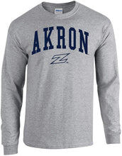 Load image into Gallery viewer, J2 Sport University of Akron Zips NCAA Unisex Long Sleeve T-Shirts