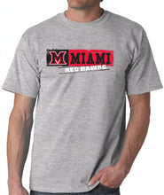 Load image into Gallery viewer, J2 Sport Miami University Redhawks NCAA Sticker Unisex T-Shirt