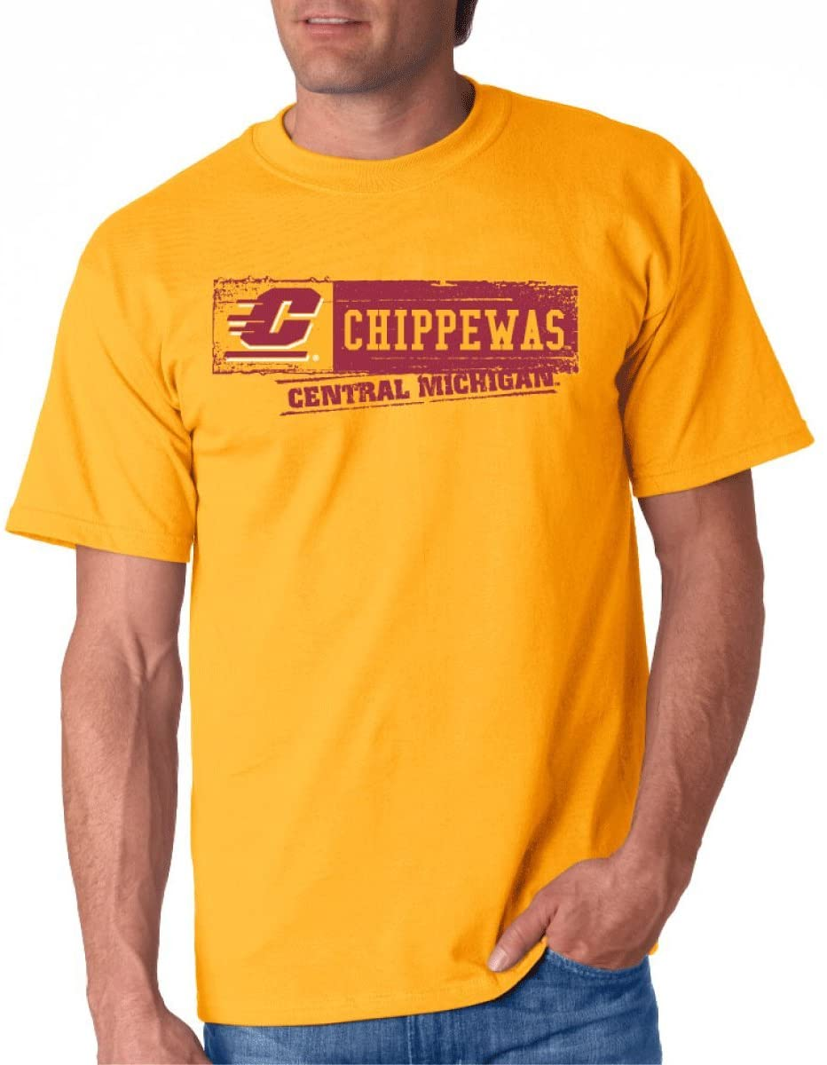 J2 Sport Central Michigan University Chippewas NCAA Sticker Unisex T-Shirt