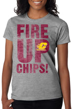 Load image into Gallery viewer, J2 Sport Central Michigan Chippewas NCAA Fire Up Cheer Junior T-Shirt