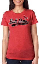 Load image into Gallery viewer, Ball State University Cardinals NCAA Old School Juniors T-Shirt