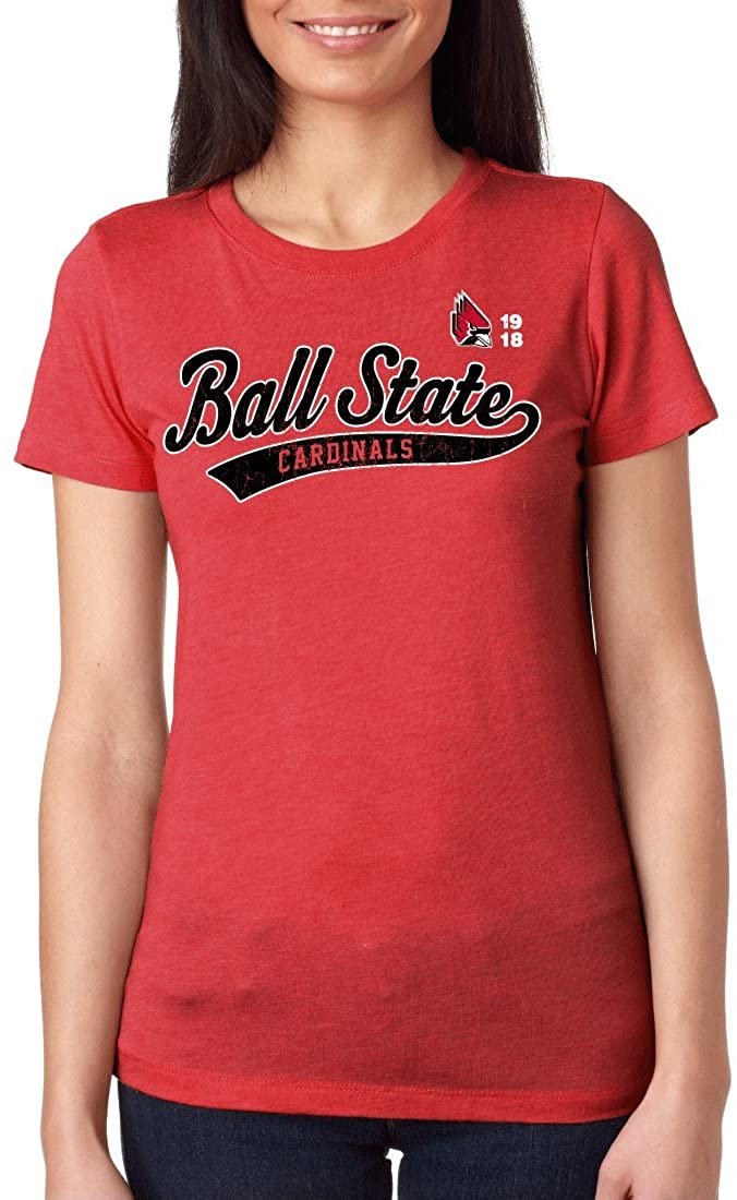 Ball State University Cardinals NCAA Old School Juniors T-Shirt