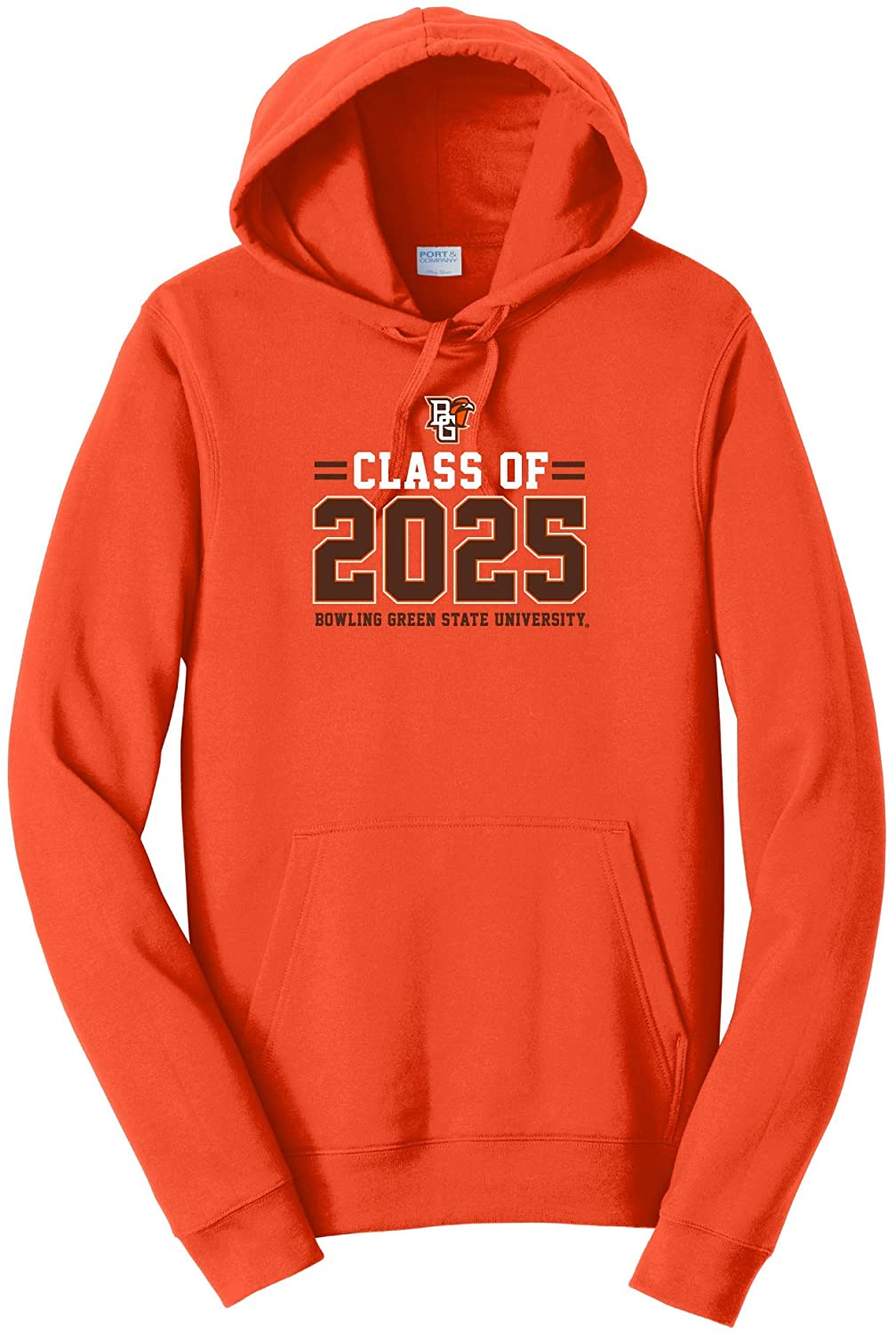 Bowling Green State Falcons NCAA Class of 2025 Stacked Hooded Sweatshirt