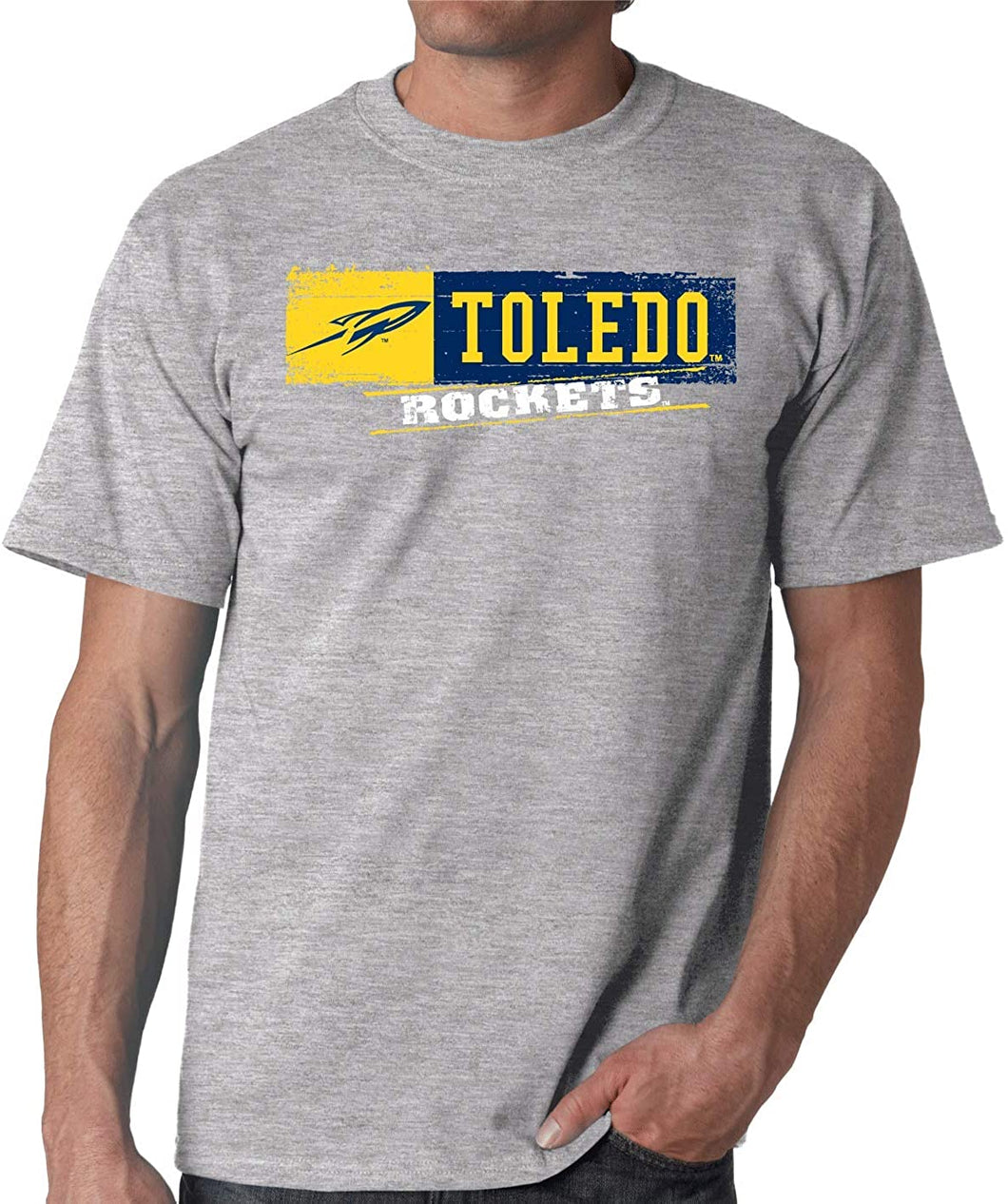 University of Toledo Rockets NCAA Sticker Unisex T-Shirt