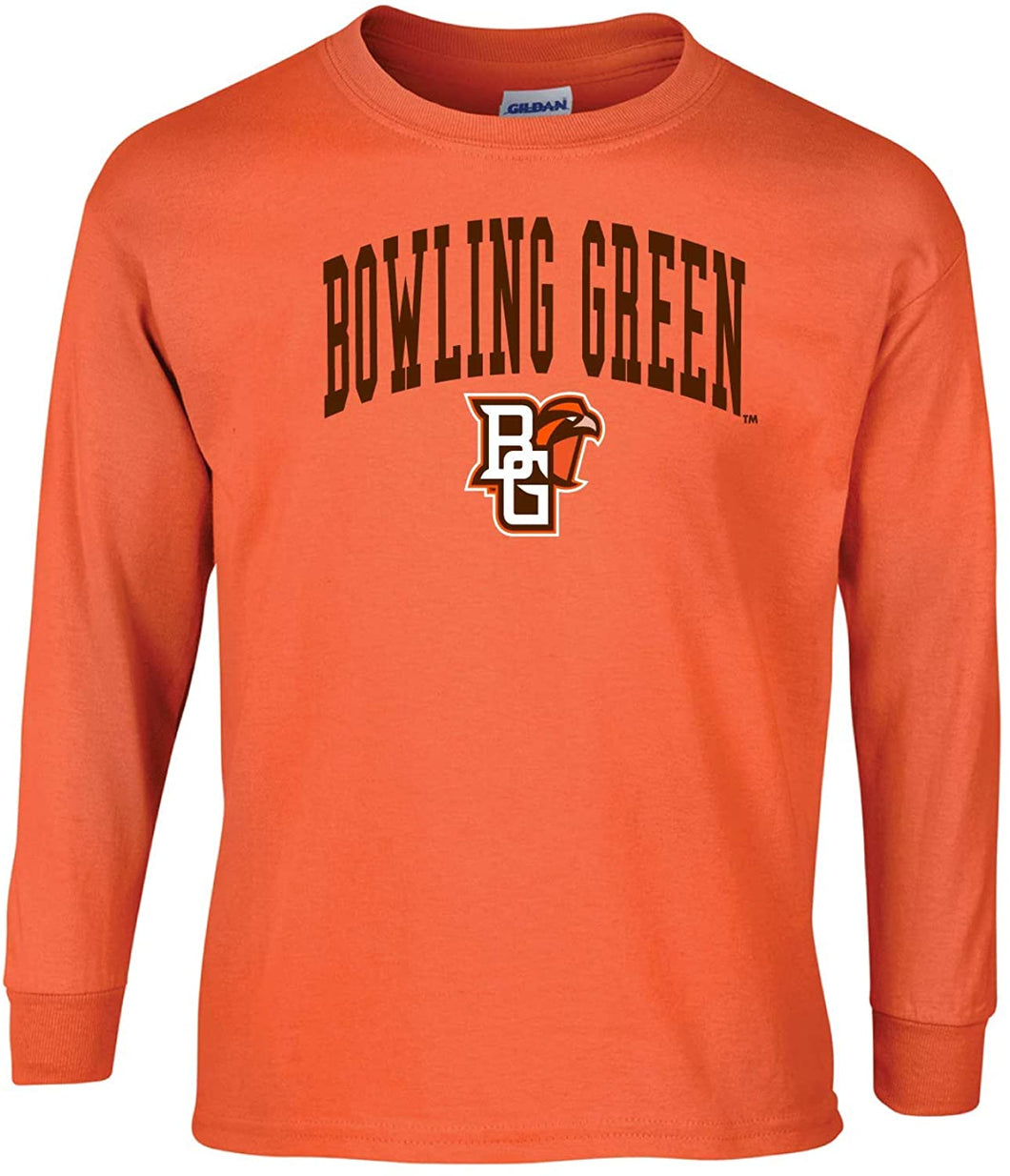 J2 Sport Bowling Green State Falcons NCAA Unisex Long Sleeve T-Shirts