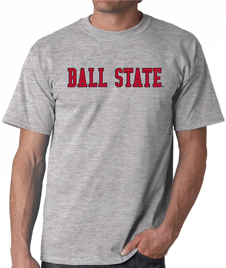 Ball State University Cardinals NCAA Block Unisex T-Shirt