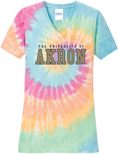 Load image into Gallery viewer, Akron Zips NCAA Tie Dye Adult T-Shirt