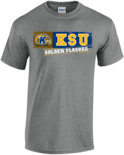 Load image into Gallery viewer, Kent State University Golden Flashes NCAA Sticker Unisex T-Shirt