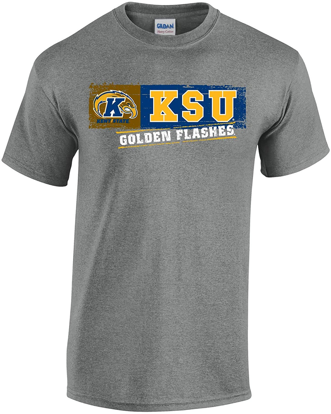 Kent State University Golden Flashes NCAA Sticker Unisex T-Shirt