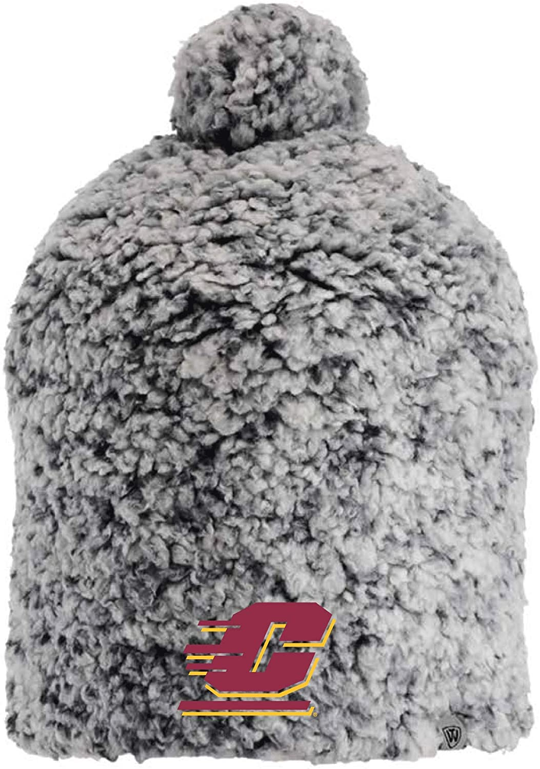 J2 Sport Central Michigan University Chippewas NCAA Ladies Sherpa Hat