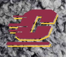 Load image into Gallery viewer, J2 Sport Central Michigan University Chippewas NCAA Ladies Sherpa Hat