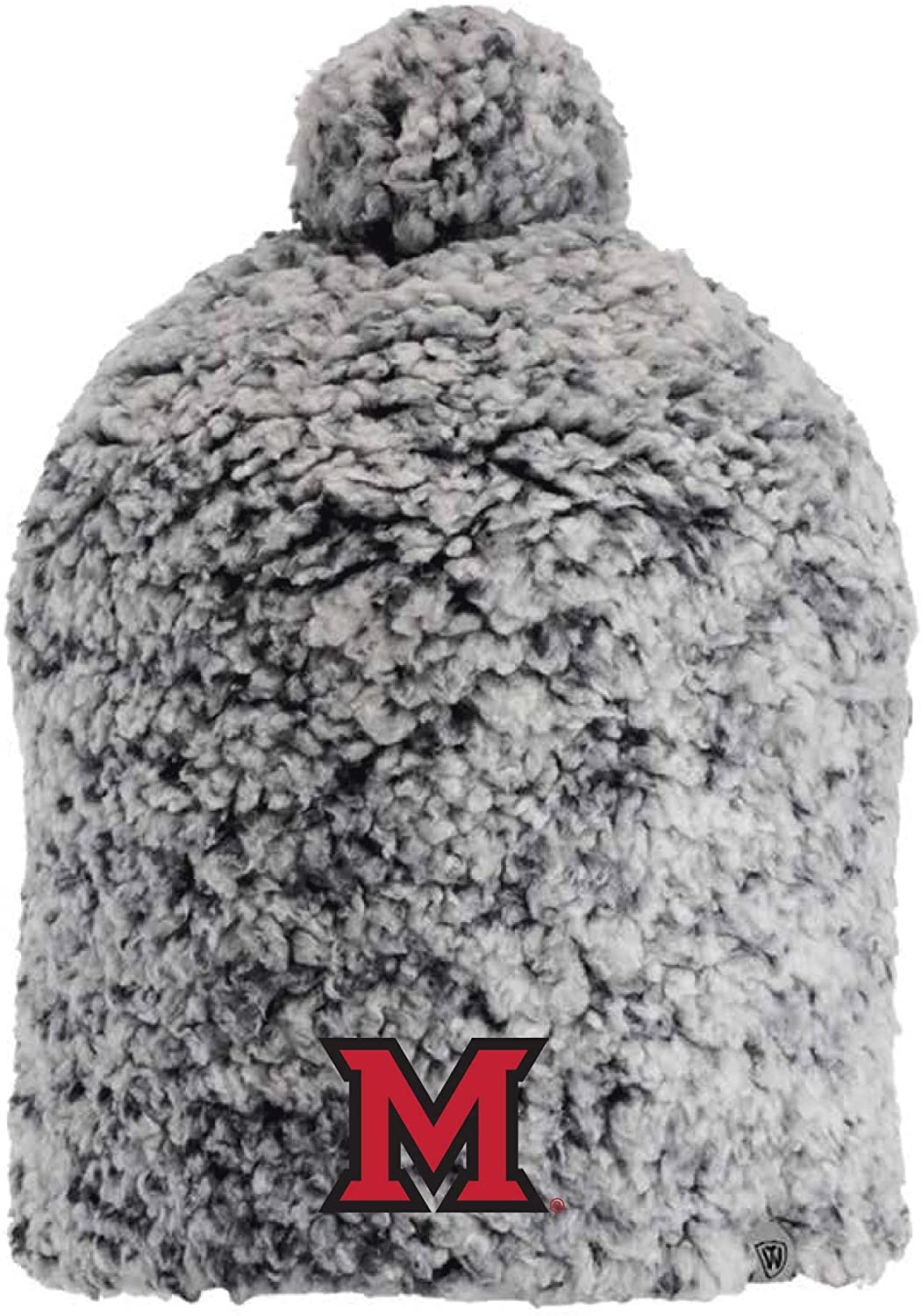 J2 Sport Miami University Redhawks NCAA Ladies Sherpa Hat