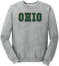 Load image into Gallery viewer, Ohio University Bobcats NCAA Block Unisex Crewneck Sweatshirt