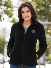 Load image into Gallery viewer, Kent State University Golden Flashes NCAA Ladies Cozy Fleece Jacket
