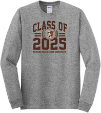 Load image into Gallery viewer, Bowling Green State Falcons NCAA Class of 2025 Arch Long Sleeve T-Shirt