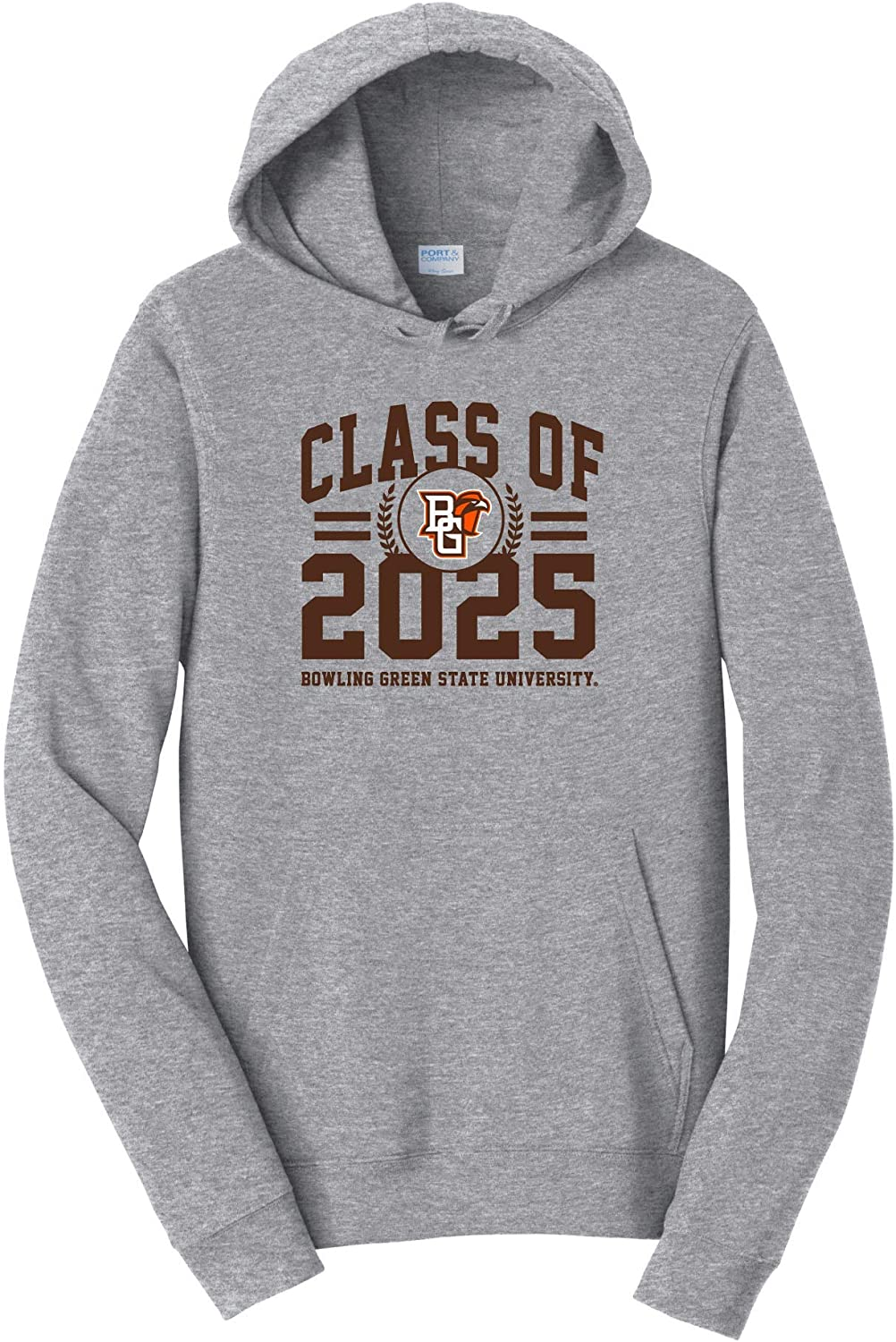 Bowling Green State Falcons NCAA Class of 2025 Arch Hooded Sweatshirt