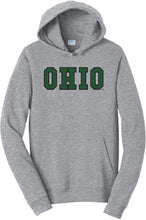 Load image into Gallery viewer, Ohio University Bobcats NCAA Block Unisex Hooded Sweatshirt