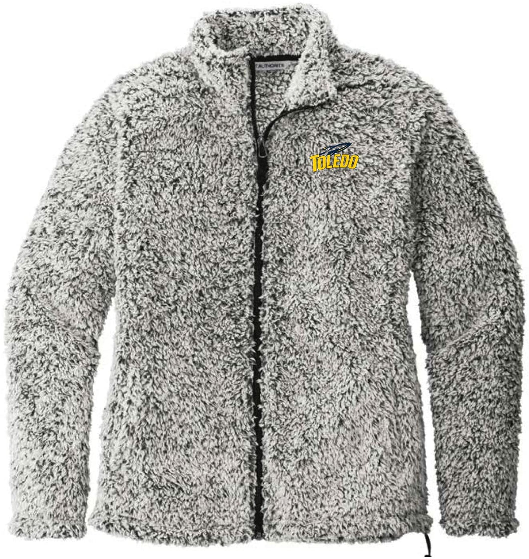 University of Toledo Rockets NCAA Ladies Cozy Sherpa Fleece Jacket