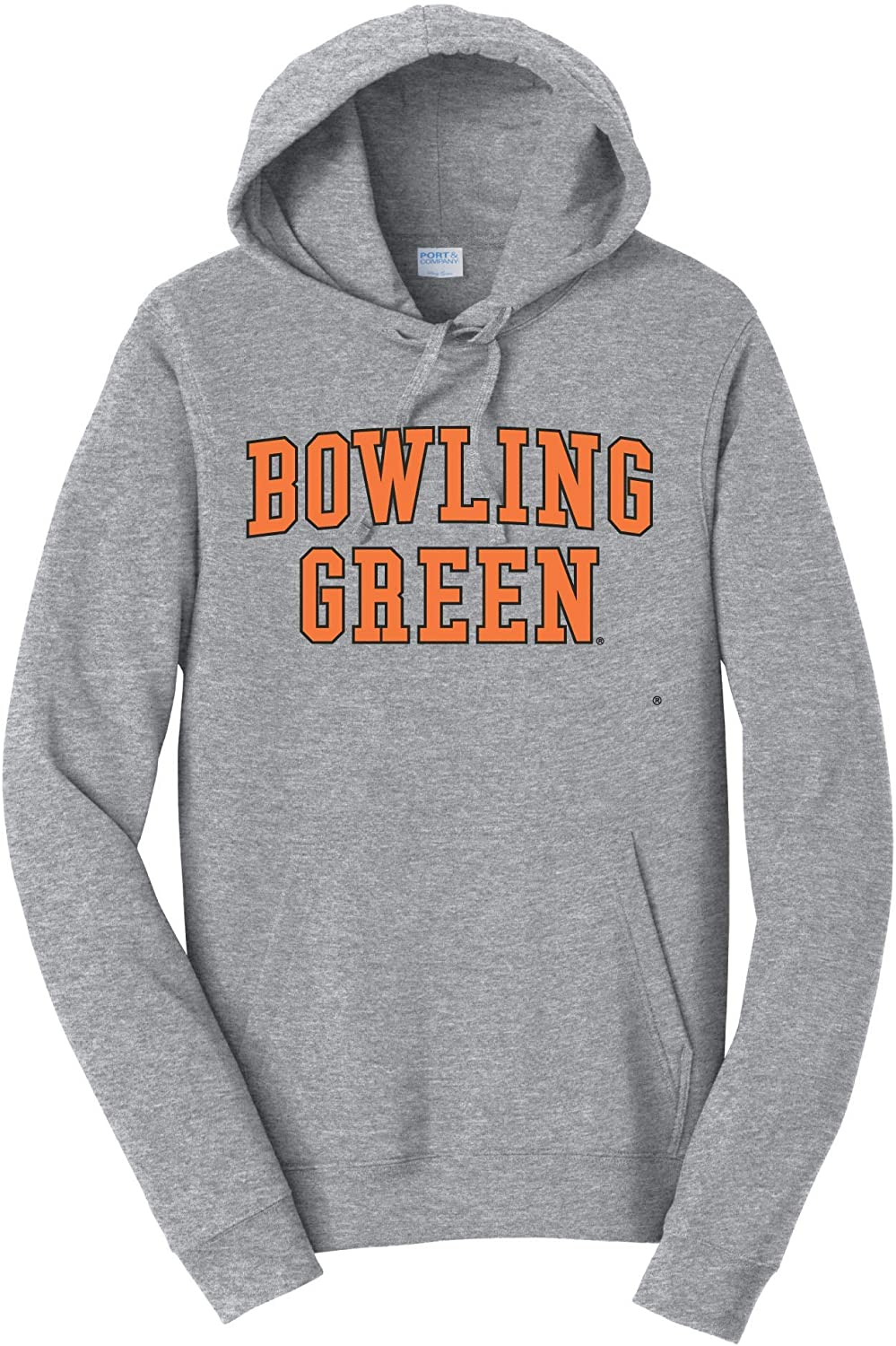 Bowling Green State Falcons NCAA Block Unisex Hooded Fleece