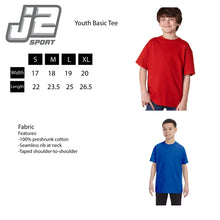 Load image into Gallery viewer, University at Buffalo Bulls NCAA Machine Script Youth T-Shirt