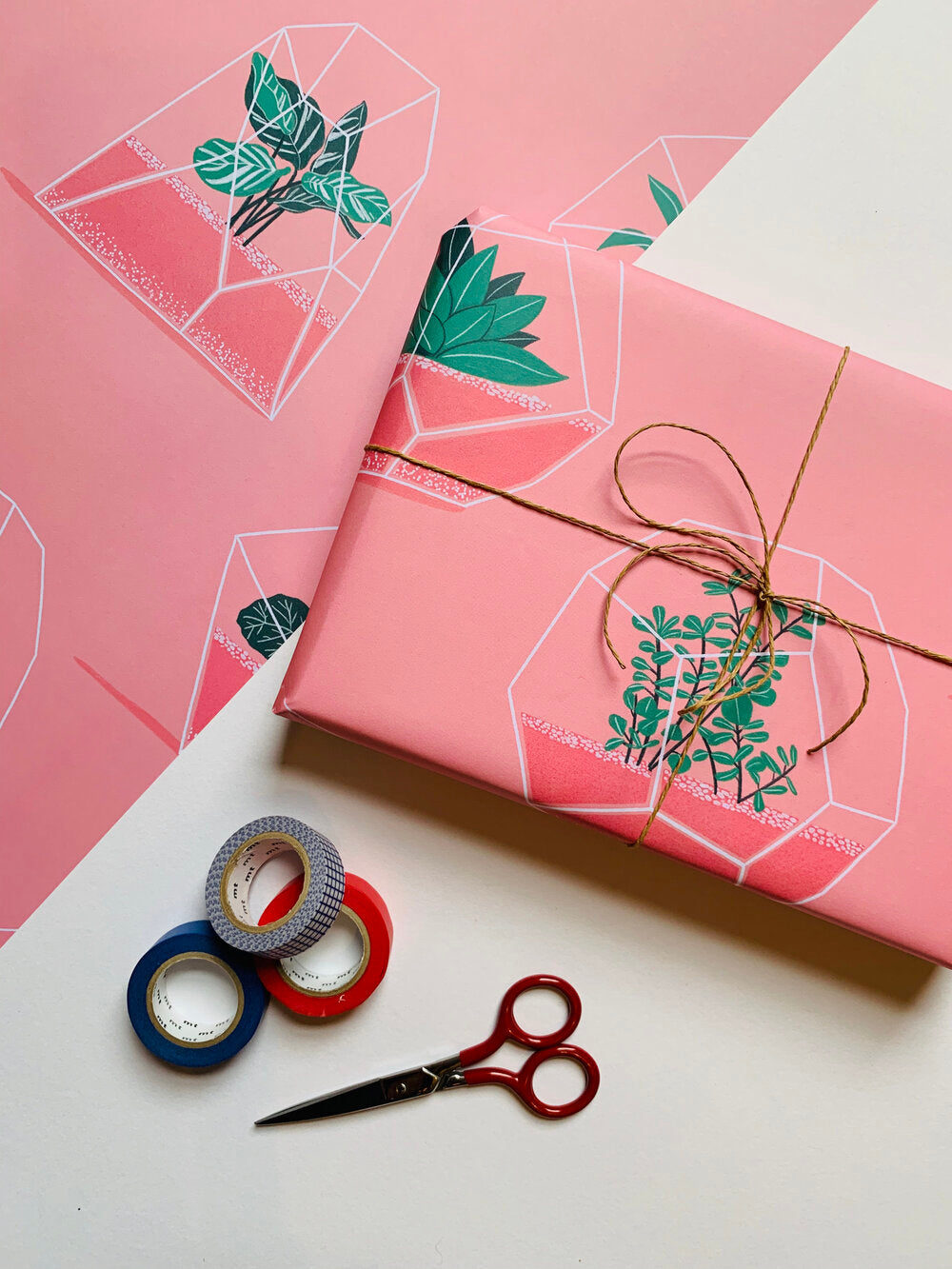 Mal Made - Terrarium Wrapping Paper