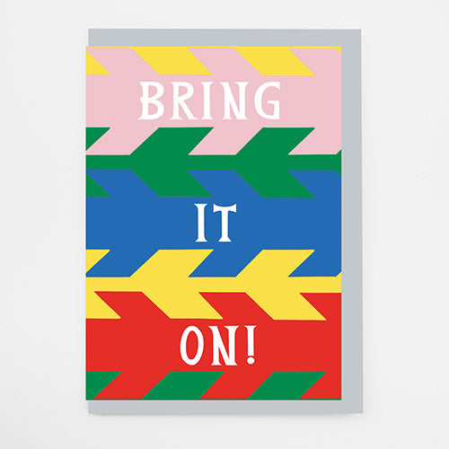 Bring it On Card by Alison Hardcastle