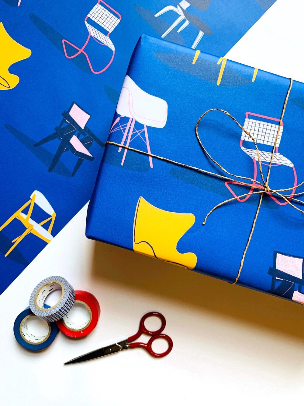 Malmade - Chairs Wrapping Paper