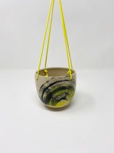 Load image into Gallery viewer, Hanging Planter in Yellow & black by Here be Monsteras