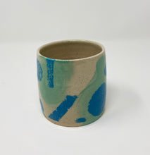 Load image into Gallery viewer, Mini Planter in blue tones by Here Be Monsteras