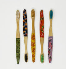 Load image into Gallery viewer, Bamboo Toothbrush by Joy Rooney