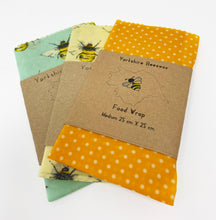 Load image into Gallery viewer, Wax Food Wraps by Yorkshire Beeswax M