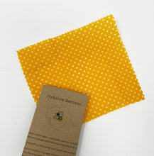 Load image into Gallery viewer, Wax Food Wraps by Yorkshire Beeswax XS