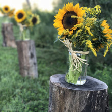 Load image into Gallery viewer, Small Mason Jar Bouquets