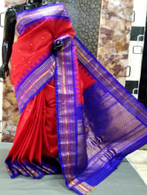 Load image into Gallery viewer, Pure Gadwal Silk