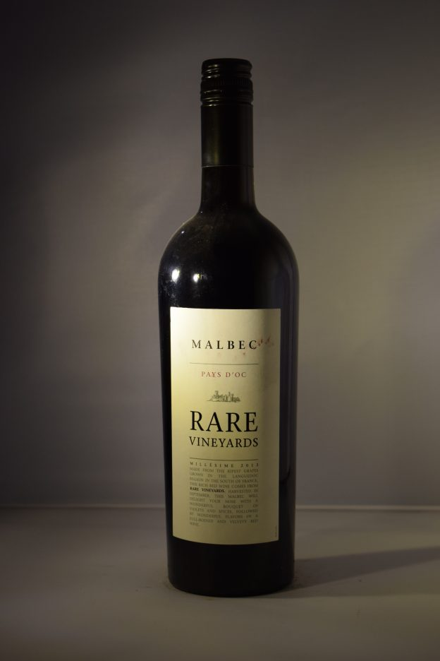 Rare Vineyards Pays D'oc Malbec 2013