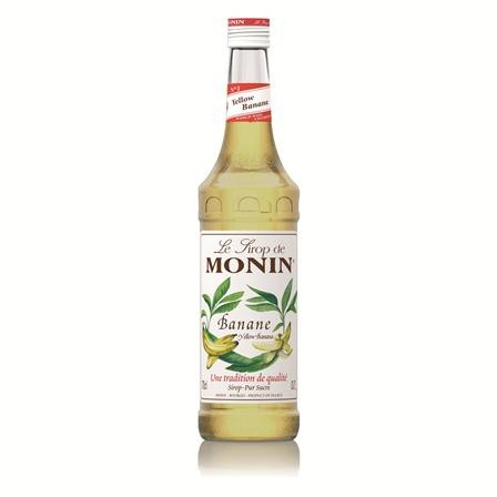 Monin Yellow Banana Syrup 70cl