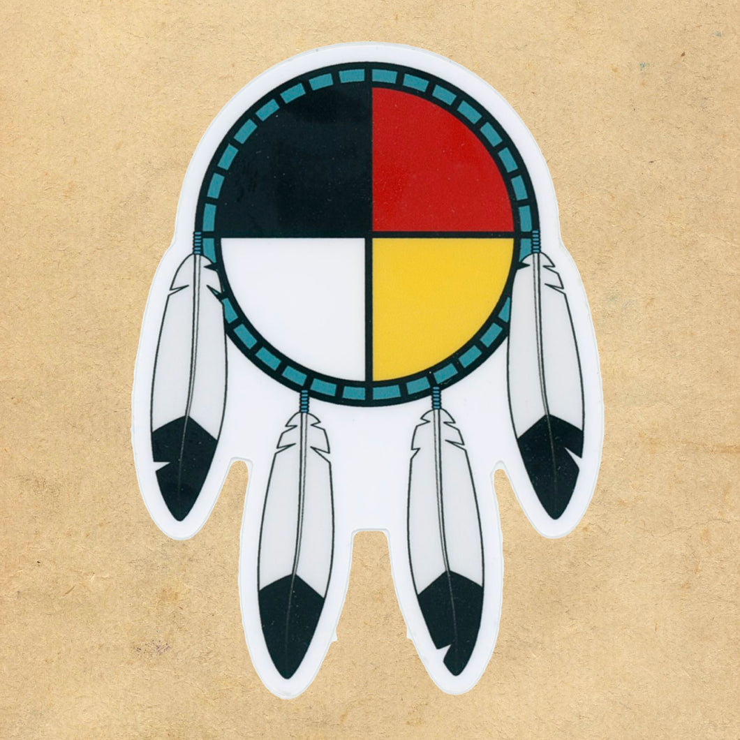 Medicine Wheel Shield