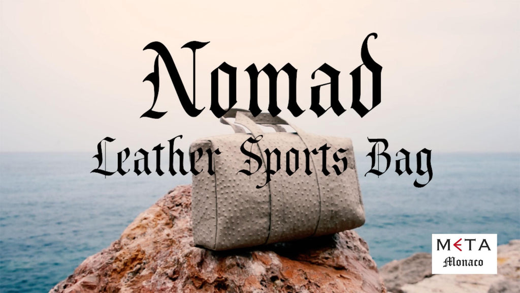 Sport Leather Bag — Nomad Collection