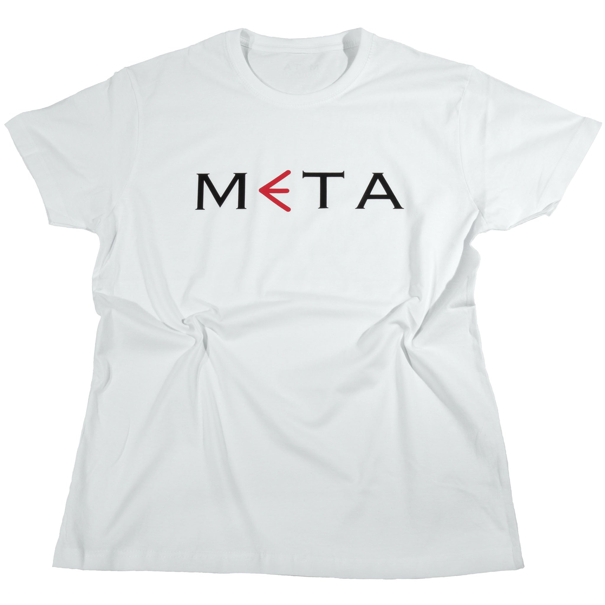 META Branded T-Shirt White